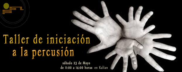 TALLER INICIACIÓN A LA PERCUSIÓN