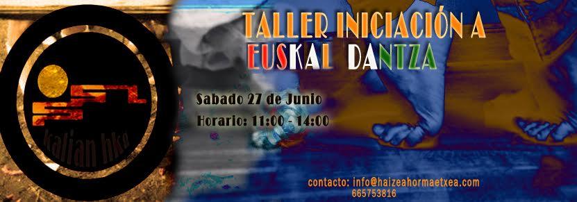 Taller de Iniciación a Euskal Dantza