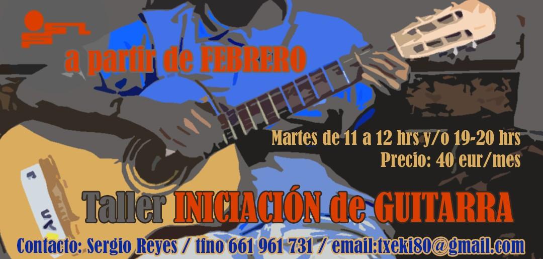 Taller Iniciación de Guitarra