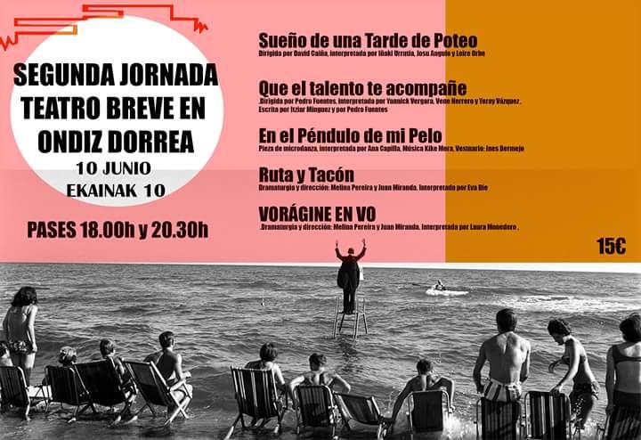 Segunda Jornada de Teatro Breve Torre de Ondiz