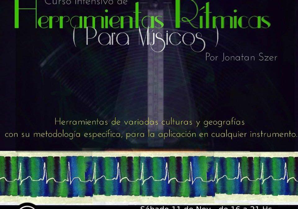 Curso intensivo de Herramientas Rítmicas (para músicos)