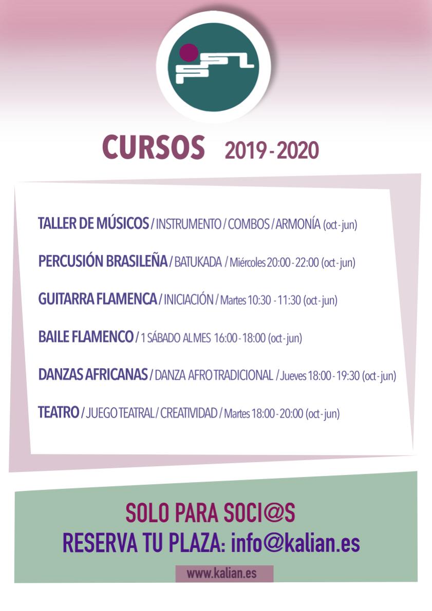 Cursos 2019-20