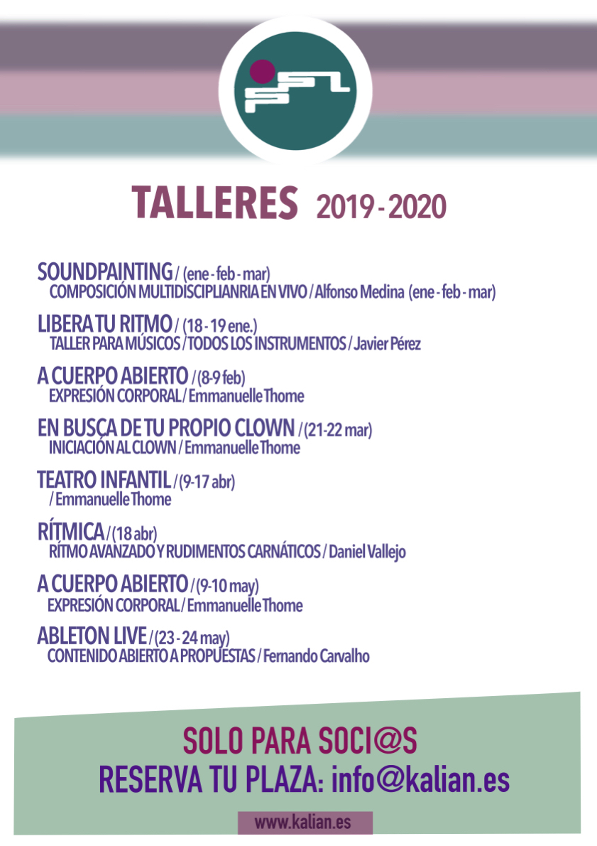 Talleres 2019-20