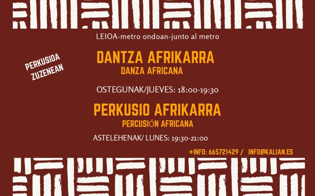 Curso Percusión Africana